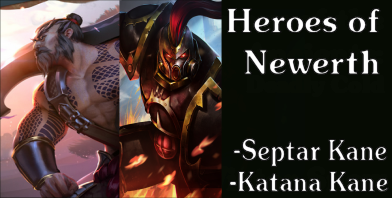 Heroes of Newerth - Katana Kane