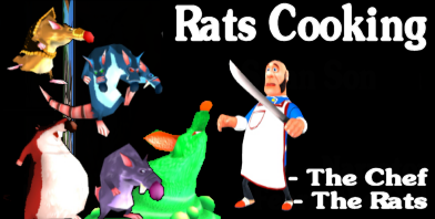 Rats Cooking - Gemioli