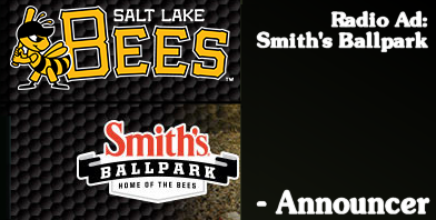 Salt Lake Bees MiLB Baseball - Smith's Ballpark