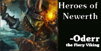 Heroes of Newerth - Oderr the Fiery Viking