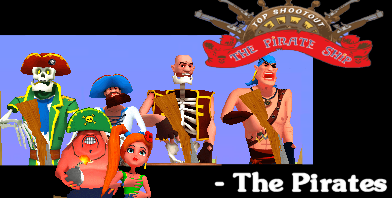 Top Shootout - The Pirate Ship